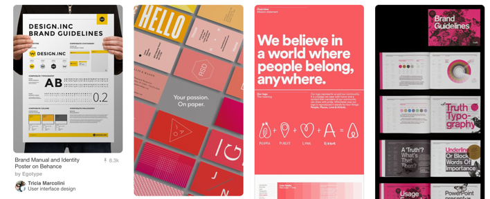 pinterest brand guidelines examples