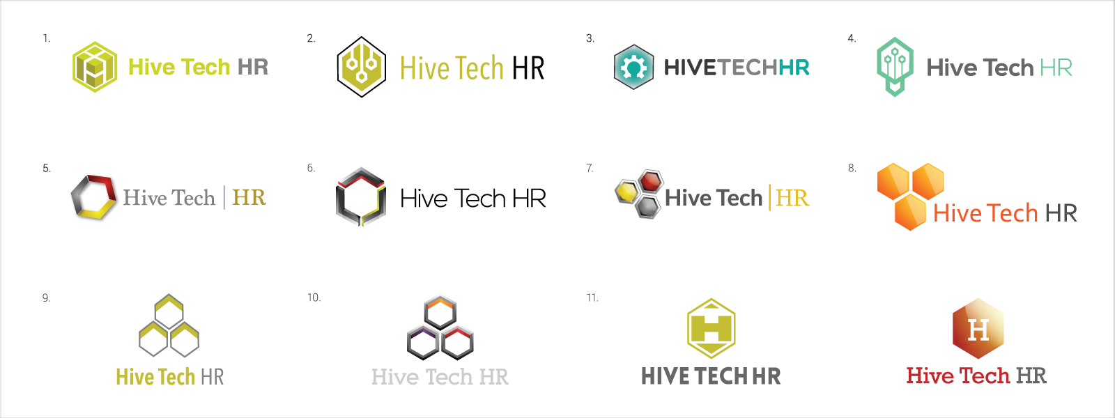 hive tech logo board