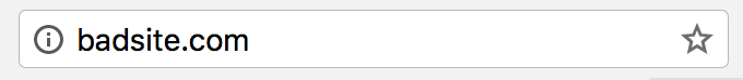 website with no SSL example